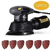 Lijadora Eléctrica, TECCPO Lijadora Mouse 130W,...