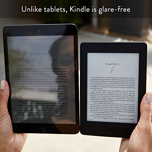 "Kindle Paperwhite 3G (7th gen), 6"" High Resolution Display with Built-in Light, 4GB, Wi-Fi + Free 3G 17"