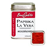 Paprikapulver La Vera geräuchert Mild - Spanisches Pimenton de la Vera dulce | Fa. BenCondito | 100 Gramm in der Gewürzdose