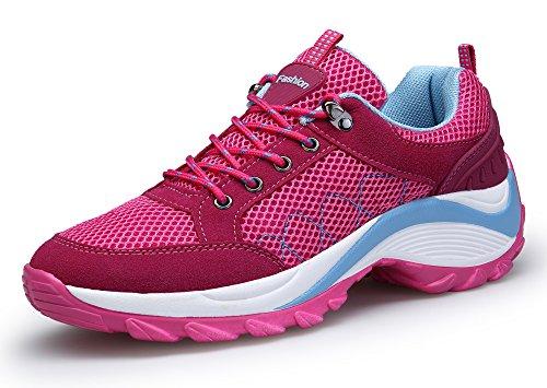 DAFENP Donna Sneakers Scarpe da Ginnastica Corsa Sportive Fitness Running Basse Interior Casual...