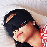DREAMTIMEJOY sleep mask for women men 3D Eye Mask for Sleeping UNISEX Blindfold EXCELLENT LIGHT Blocker With Full Eye Movement