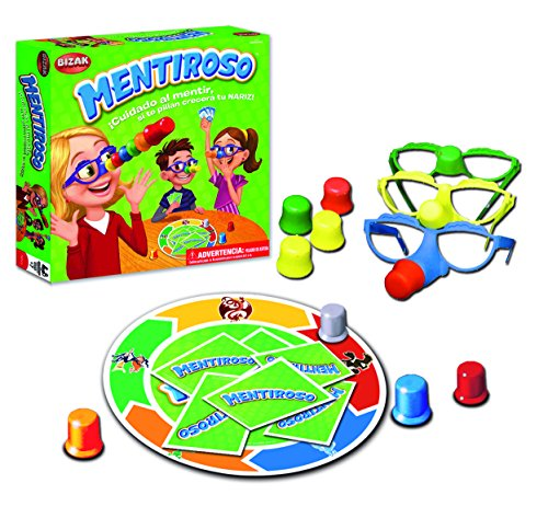 Bizak - Mentiroso, juego de mesa
