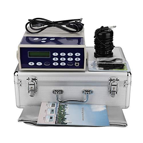 Filfeel Pie SPA baño eléctrica Ionic Cell Detox Litio Limpiar Cuerpo Detox Máquina de Litio Array SPA etc desintoxicación Aqua con Belt 0026 Case(EU)