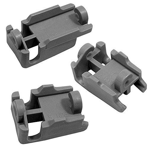 Spares2go kit cuscinetti cestello per lavastoviglie Bosch superiore (confezione da 3) Fitment List A