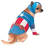 Rubie's IT580070-S - Costume Capitan America Dog, S