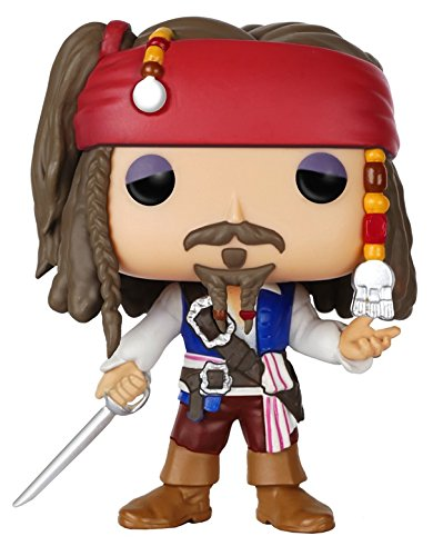 Pop! Disney - Muñeco cabezón Pirates - Jack Sparrow (Funko 7105)