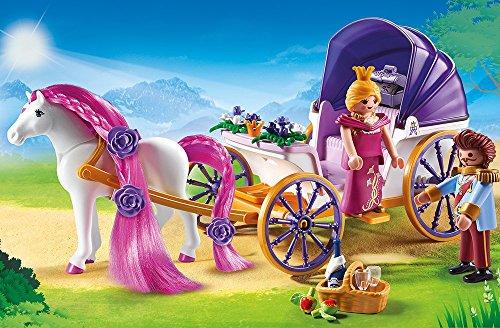 PLAYMOBIL 6856 – Königspaar mit Pferdekutsche - 2