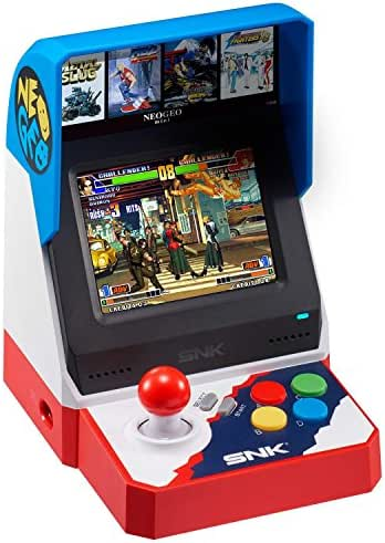 SNK Neo Geo Mini 40th Anniversary Console System Asia Pacific Version (English, Japanese)