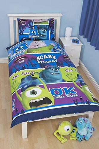 Character World DMI-UNI-MS2-MSCx-06SP - Juego de fundas para edredón, cama individual, color azul