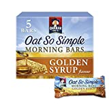 Quaker Oat So Simple Golden Syrup Morning Bars, 35 g (Pack of 5)