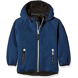 NAME IT Baby-Jungen Jacke Nitbeta Softshell Ted Jacket MZ B FO, Blau (Skydiver), 104