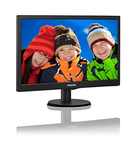 """Phillips Ecran PC LED 18.5"""" 1366x768 16:9 5ms 29"""