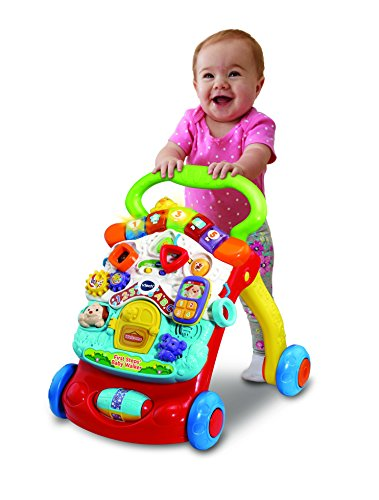 Vtech First Steps Baby Walker, Essential baby toys, toys for every developmental stage, baby toys, must have baby toys, the best toys for babies, gift ideas for babies, Christmas baby gift ideas, gifts for babies