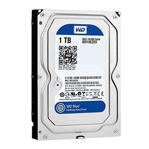 Western Digital WD10EZEX - Disco rigido WD 1TB Blue, 64 MB, 7200 RPM, SATA 6Gb/SEC