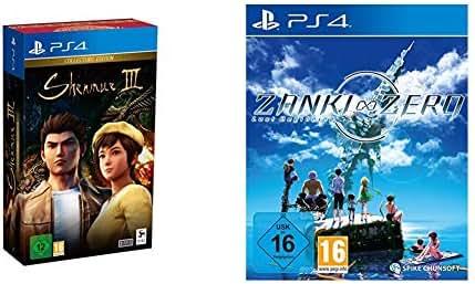 Shenmue III Collector's Edition (PS4) & Zanki Zero: Last Beginning (PS4)