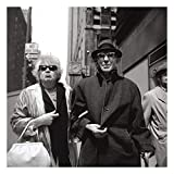 Vivian Maier Couple 30x30cm Stampa bianco e nero
