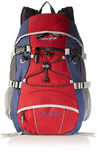 7db8fa11b9 AspenSport AB04R02, zaino da trekking da 40 l rosso   Cosmico ...
