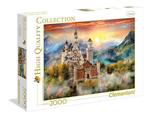 Clementoni - 32559 - High Quality Collection Puzzle - Neuschwanstein - 2000 Pezzi