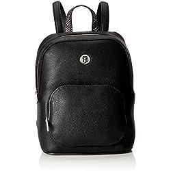 Tommy Hilfiger - Th Core Backpack, Mochilas Mujer, Negro (Black), 12.5x28x23 cm (B x H T)
