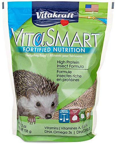Vitakraft Hedgehog High Protein Insect Formula Food, 25 Ounce Pouch