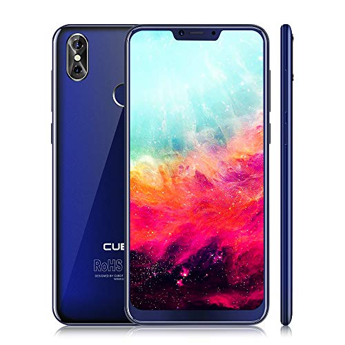 "CUBOT P20 4G Smartphone Móviles Libres Baratos Android 8.0 LTE Pantalla IPS de 6.18 "" Cámara 20.0 MP + 2 MP Dual SIM Standby ROM 4GB RAM 64GB Bluetooth / GPS / WLAN (Azul)"