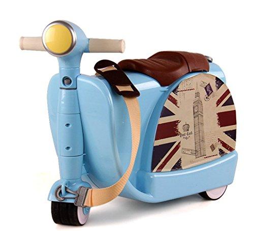 Borsa trolley per bambini giocattolo con contenitore giocattolo valigia può essere corsa per...