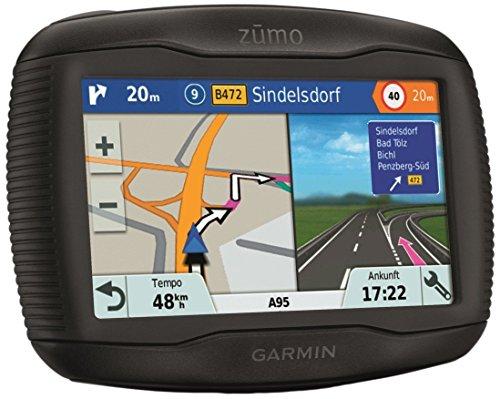 Garmin zumo 345LM CE Motorrad Navigationsgerät, Zentraleuropa Karte, lebenslangen Kartenupdates, Routenfunktion, Sicherheitshinweise, 4,3 Zoll (10,9 cm) Touchscreendisplay, 0753759160340