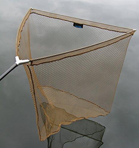 DD-Tackle - Retino per pesca alla carpa, 102cm, compresa borsa, con blocco in metallo sulla testa del retino