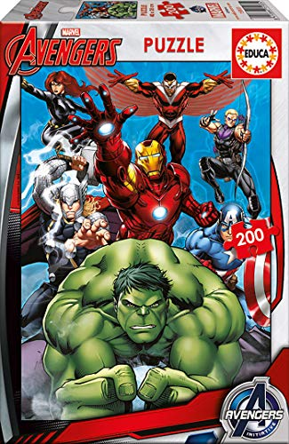 Educa Marvel Puzzle, Colore Vario, 841266815933
