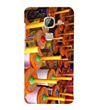 Fiobs Designer Back Case Cover for LeEco Le Max 2 :: LeTV Max 2 (Kites Patang Colorful Makar Sankranti)