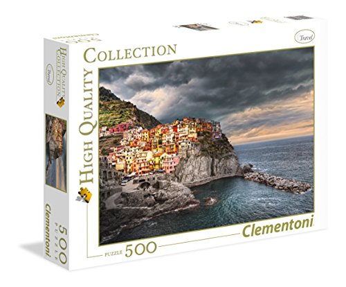 Clementoni- Manarola High Quality Collection Puzzle, 500 pezzi, 35021