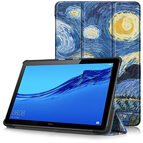 Huawei Mediapad T5 10 Cover, Custodia Ultra Sottile e Leggero con Coperture da Supporto per Huawei...
