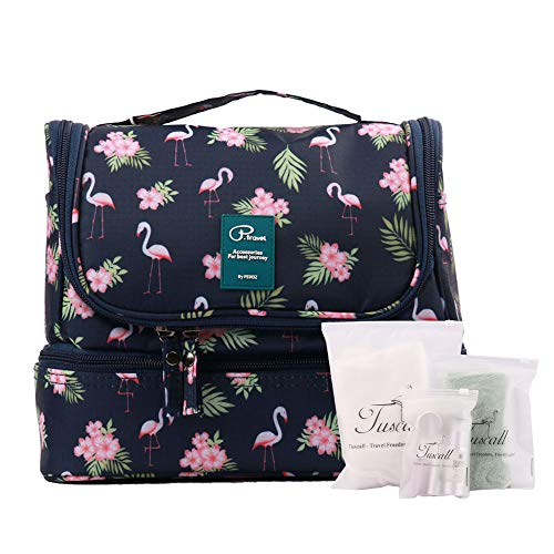 Beauty Case da Viaggio Borsa da Toilette Appendibile Tuscall Cosmetico Bag Impemeabile...