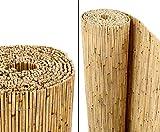 bambus-discount.com Schilfrohrmatten Premium Beach, 140 hoch x 600cm breit - Sichtschutz Matten Windschutzmatten ...
