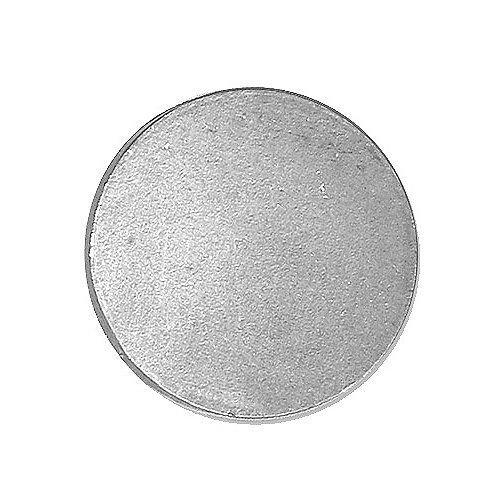 Ronde Stahlplatte Stahlscheibe Stahldeckel Stahlkappe - 100 bis 200 mm - S235 (100 mm, 8 mm)