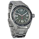 Brand New! Vostok Komandirskie 200 WR Mens Mechanical AUTO Self-Winding Wrist Watch #020715