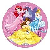 Generique - Disney-Tortenaufleger mit Prinzessinnen-Motiv bunt 20cm