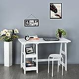 Scrivania da ufficio tavolo scrivania Ihouse Home elegante semplice studio scrivania tavolo tavolino da salotto corridoio lato bordo bianco