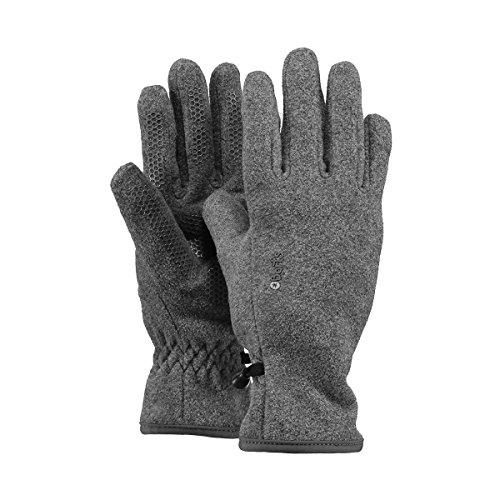 Barts Fleece Glove Kids, Guanti Bambini Unisex, Colore Grigio, Taglia 8-10 Anni (Taglia Produttore:...