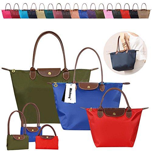 9bd08be56de2 Wocharm Womens Handbags Shoulder Bag Messenger Bag Nylon Tote Bag Ladies  Shopping Folding Tote Beach Travel Bag Casual Purse - SixtySomething - Over  Sixty ...