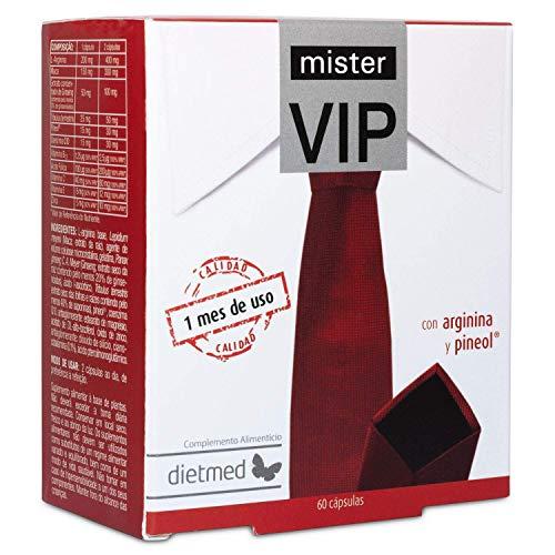 Mr VIP - Ginseng, l-arginina, q10 coenzima, maca e tribulus terrestris  Potenza  Resistenza