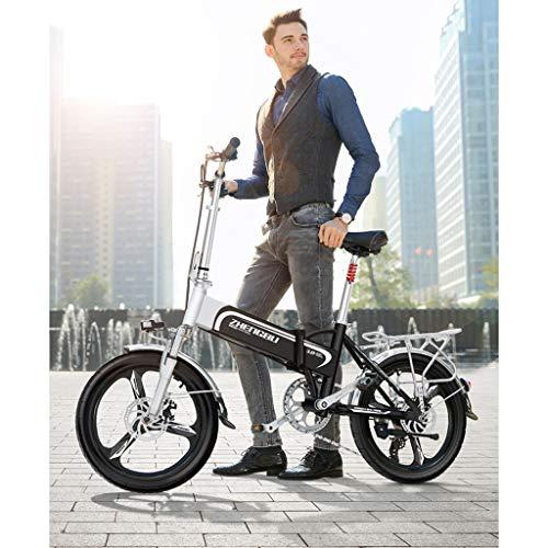 WuKai Batteria al Litio Pieghevole per Bicicletta Elettrica Segway