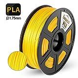 Enotepad PLA 3D Printer Filament,Enotepad PLA Filament 1.75mm,Dimensional Accuracy 1.75±0.02 mm,Gold PLA 1KG Spool