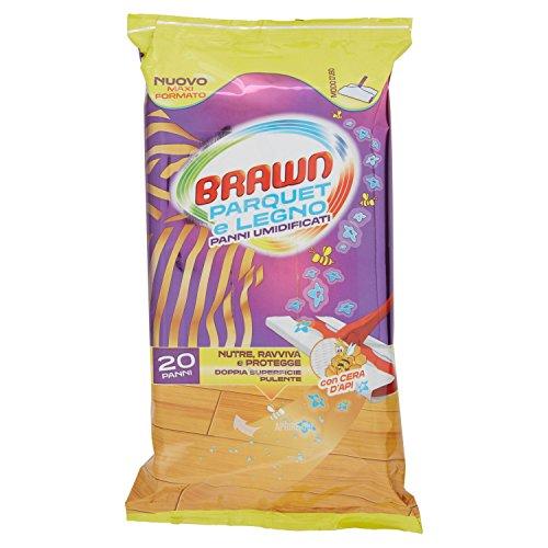 Brawn Salviette Parquet X 20