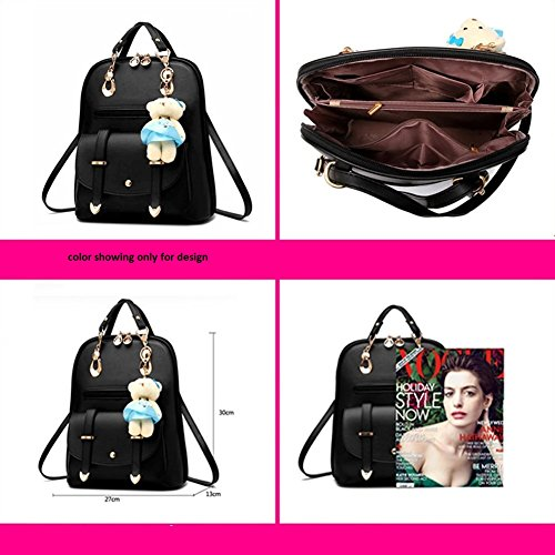 Aeoss 2017 Fashion Women Backpack Spring and Summer Students College School Korean Style Backpack 3