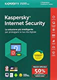 Kaspersky Lab KL1941T5AFS-8SATT Internet Security 2018 1 User Attach Deal  1 Year