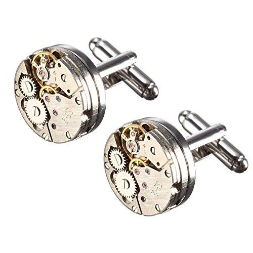 BABAN Gemelli Movimento Dell'orologio 2pcs movimento retro orologio Regalo Ideale(con una bella...