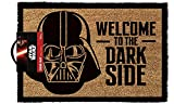Star Wars Welcome To The Darkside - Fußmatte, Größe: 60 x 40 cm, Material Kokosfaser