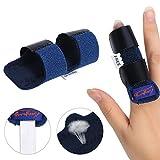 Béquille ajustable pour le soulagement de la douleur réglable attelle de fixation du doigt support correcteur