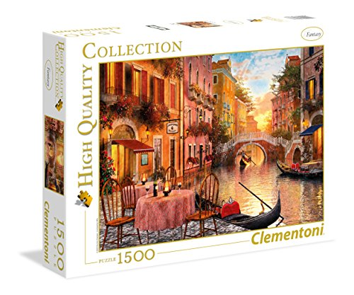 Clementoni - 31668 - High Quality Collection Puzzle - Venezia - 1500 Pezzi